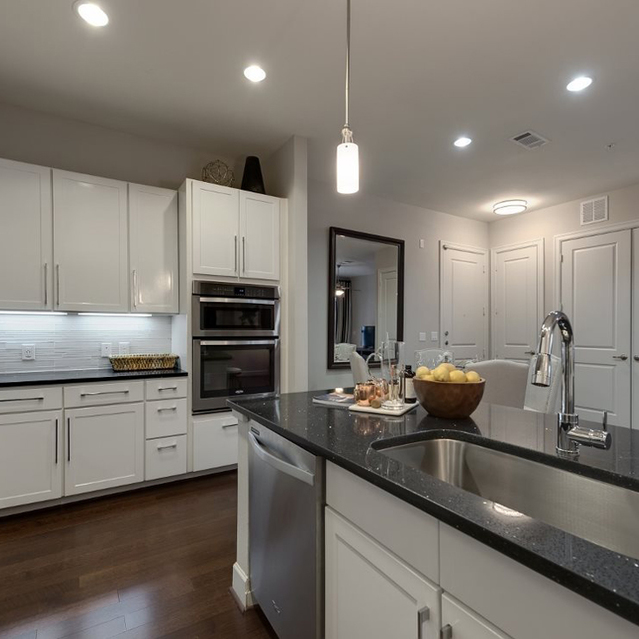 Kitchen option at Ascent at City Centre Apartments in Houston